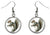 Squirrel Silver Hypoallergenic Stainless Steel Earrings