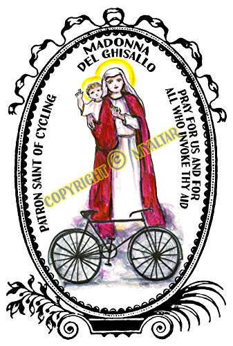 Madonna del Ghisallo Patron Saint of Cycling Art Print