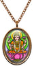 My Altar Goddess Lakshmi for Wealth & Fortune Stainless Steel Pendant Necklace