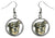Rottweiler Dog Silver Hypoallergenic Stainless Steel Earrings