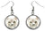 Pit Bull Dog Silver Hypoallergenic Stainless Steel Earrings