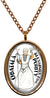 My Altar Obatala Orisha for Purification Stainless Steel Pendant Necklace