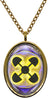 Adinkra Akoma Ntoso for Understanding Stainless Steel Pendant Necklace
