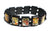 Music Lovers Black Wood Stretch Prayer Bracelet