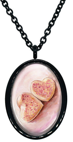 My Altar Pink Sugar Cookies Stainless Steel Pendant Necklace
