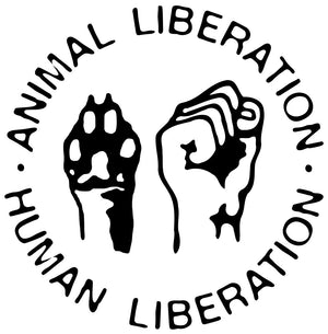 Animal Liberation Human Lib Waterproof Temporary Tattoos Lasts 3 to 4 days Choose Small, Medium or Large Sizes