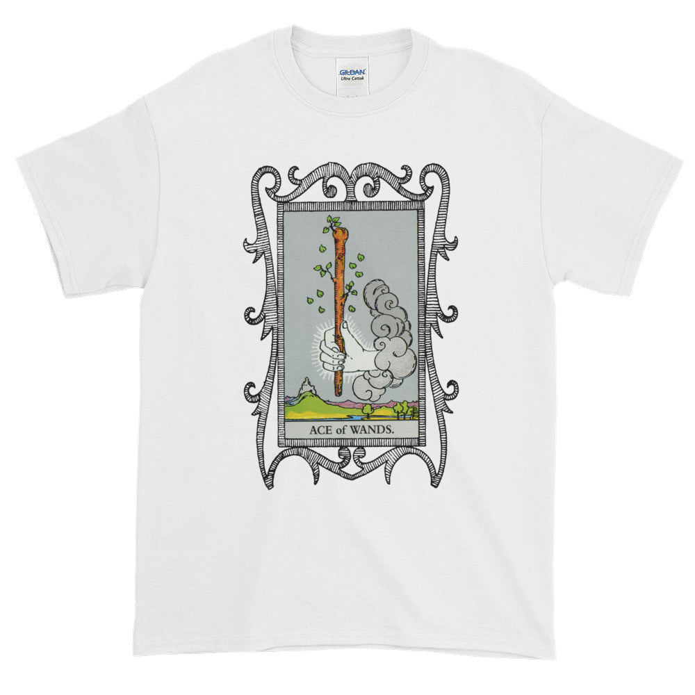 Ace of Wands Tarot Card Unisex Adult T-shirt