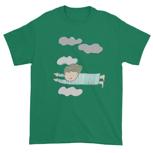 Flying Through the Clouds Unisex T-shirt