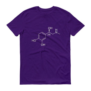 Adrenaline Chemical Structure Unisex T-shirt