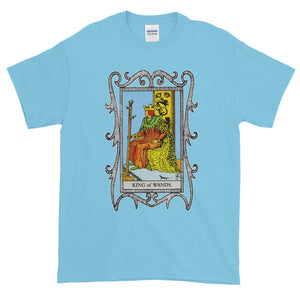 King of Wands Tarot Card Unisex Adult T-shirt