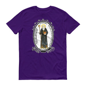 St Benedict Patron Against Poison & Inflammatory Diseases T-shirt