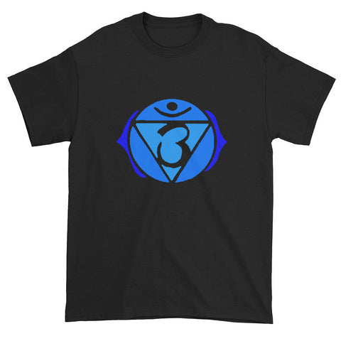 6th Chakra Ajna  for Psychic Ability Unisex Black T-shirt