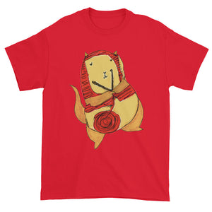 Knitting Kitty Unisex T-shirt