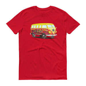 Peace Love Hippie Bus Van Unisex T-shirt