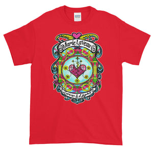 Marie Laveau Love and Light Lwa Veve Voooo Adult Unisex T-shirt