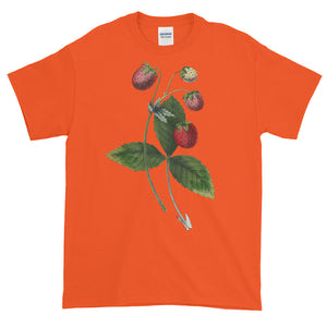 Strawberry Patch Plant Adult Unisex T-shirt
