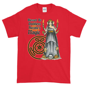 Blessed By Goddess Hecate's Magic Adult Unisex T-shirt