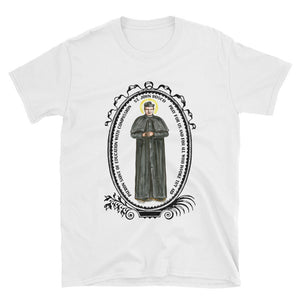 St John Bosco Patron of Education with Compassion Unisex T-Shirt