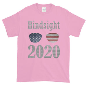 Hindsight 2020 USA Election Republican Democrat Adult Unisex T-shirt