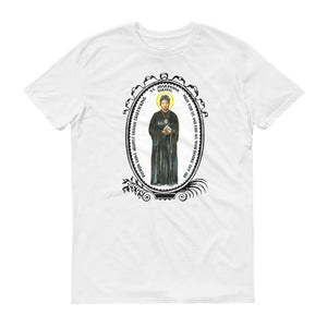 St Josephine Bakhita Patron Against Human Trafficking Unisex T-shirt