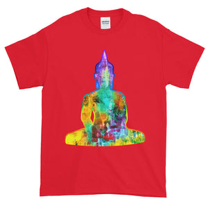 Abstract Buddhist Chakra Enlightenment Meditation Adult Unisex T-shirt