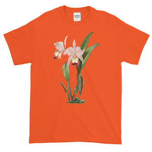 Cattleya Orchid Flowers Adult Unisex T-shirt
