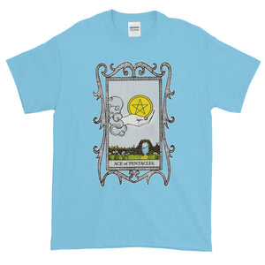 Ace of Pentacles Adult Unisex T-shirt
