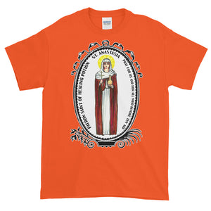 Saint Anastasia Patron of Healing Potion T-Shirt