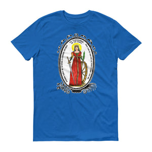 St Catherine of the Wheel Patron of Sewing & Fashion Design T-shirt