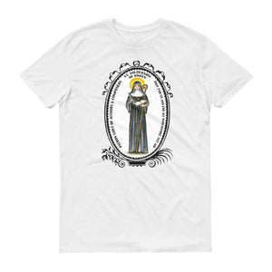 St Hildegard of Bingen Patron of Authors & Composers T-shirt