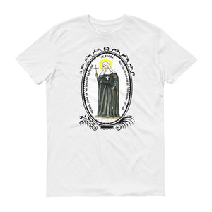 Saint Flora Patron of Victims of Betrayal Unisex T-shirt