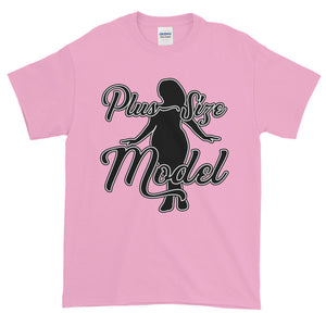 Plus Size Model BBW Adult Unisex T-shirt