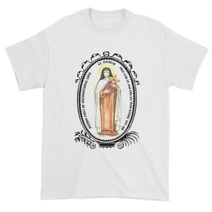 St Therese Patron of Unconditional Love Unisex T-shirt