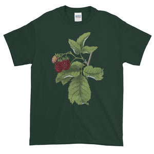 Raspberry Patch Plant Adult Unisex T-shirt