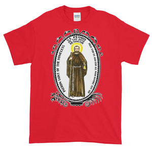 St Pedro de San Jose Betancur Patron of the Homeless T-Shirt