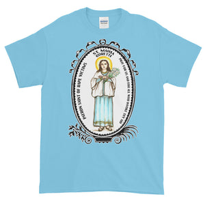 St Maria Goretti Patron of Rape Victims Unisex Adult T-shirt