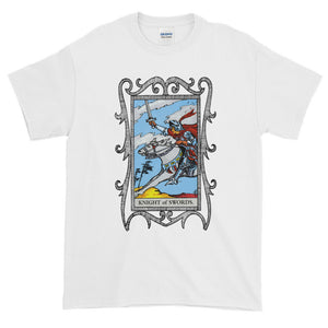 Knight of Swords Tarot Card Unisex Adult T-shirt