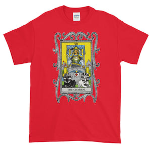 The Chariot Major Arcana Tarot Card Adult Unisex T-shirt