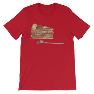 Slice of Chocolate Cake Unisex T-shirt