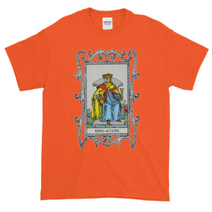 King of Cups Tarot Card Adult Unisex T-shirt