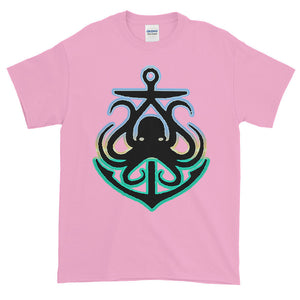 Octopus Anchor Adult Unisex T-shirt