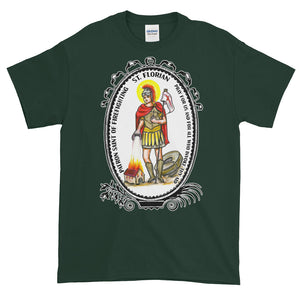 Saint Florian Patron of Firefighting T-Shirt
