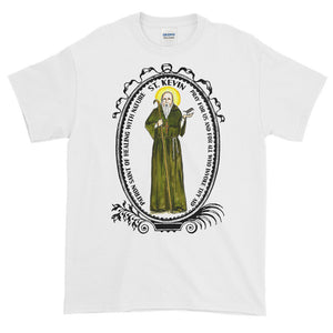 Saint Kevin Patron of Healing with Nature T-Shirt