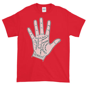 Palm Reading Palmistry Adult Unisex T-shirt