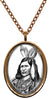 My Altar Native American Indian Chief Stainless Steel Pendant Necklace