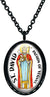 My Altar Saint David Patron of Vegans Stainless Steel Pendant Necklace