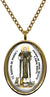 My Altar Saint Martin de Porres for Equal Rights & Animal Rescue Stainless Steel Pendant Necklace