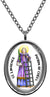 My Altar Saint Lawrence Patron of Chefs Stainless Steel Pendant Necklace