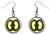 Adinkra Biribi Wo Soro for Hope & Inspiration Silver Hypoallergenic Steel Earrings