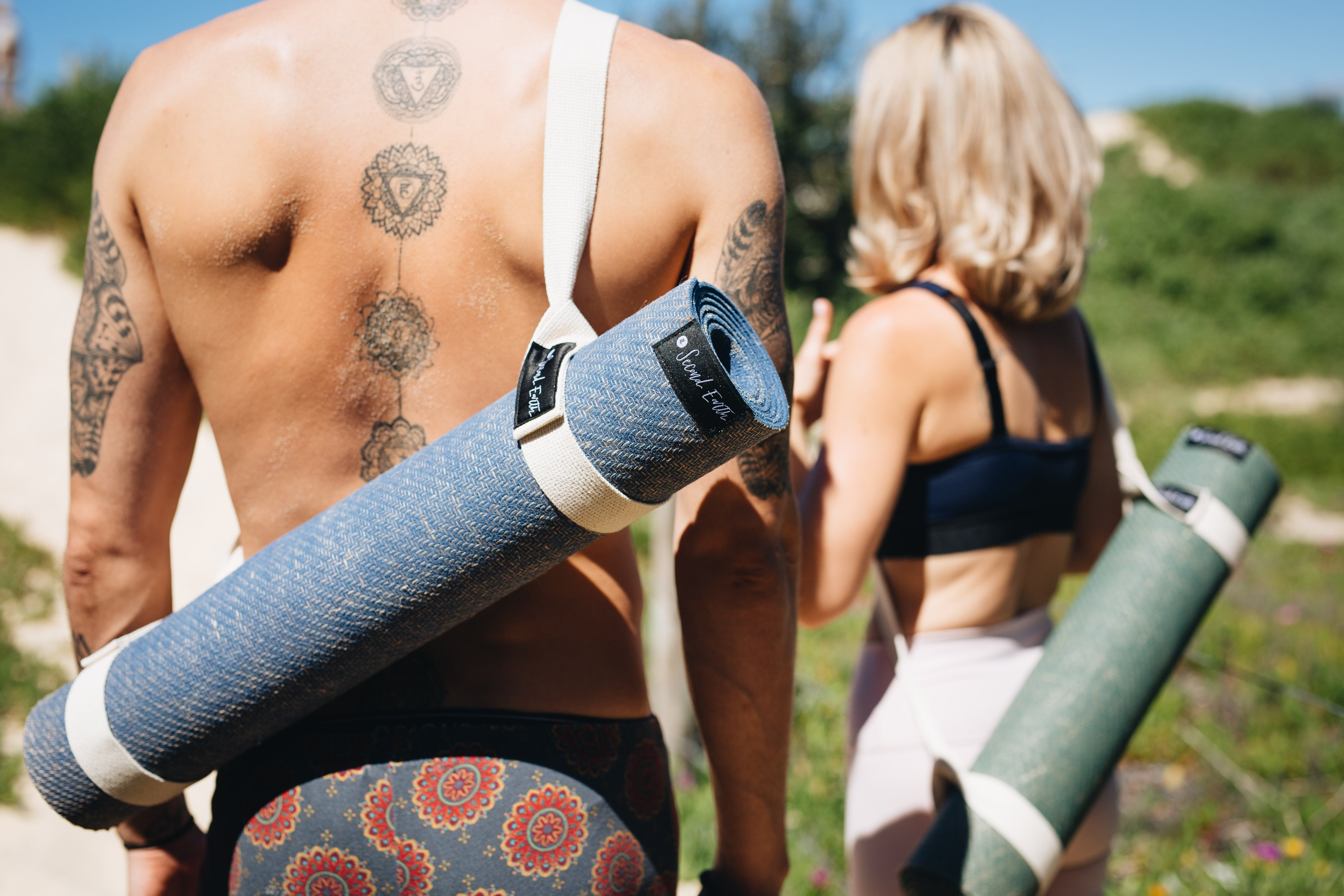Australia's best yoga mat - 2e Connected Eco Yoga Mat